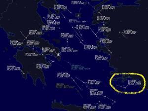 boven Turkse kust